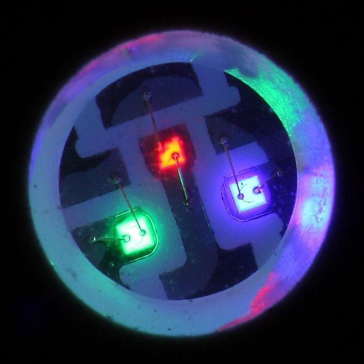 многоцветной светодиод SMD RGB