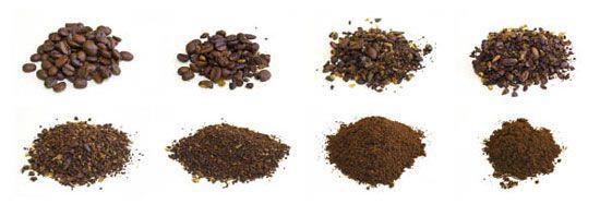 количество степеней помола у зерновой кофемашины