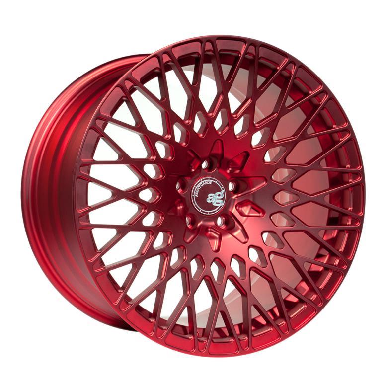 Красный колесный диск