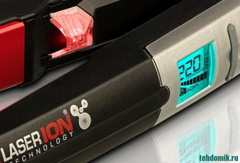 Профессиональные щипцы для выпрямления волос с электронным терморегулятором
