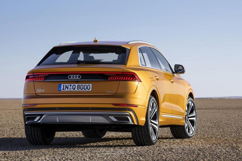Новая модель Audi Q8