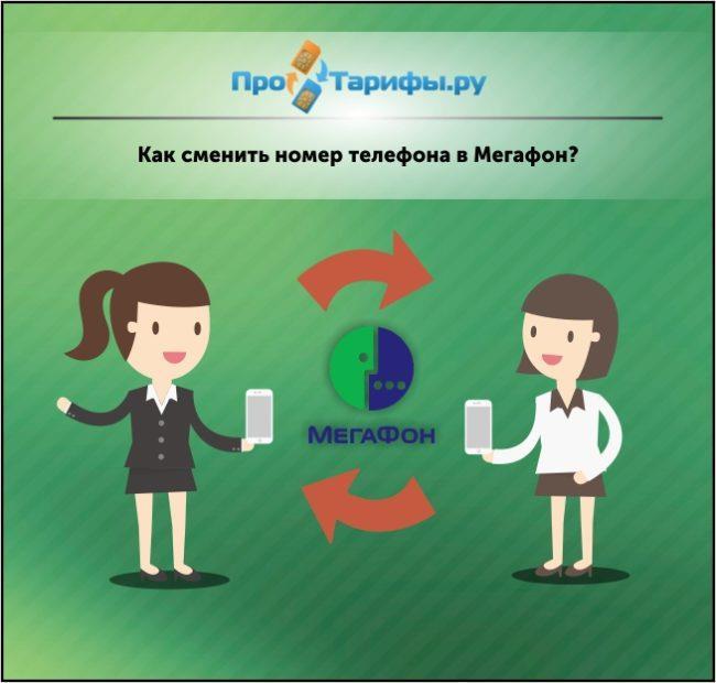 Как сменить номер на Мегафоне