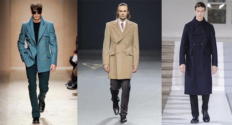 Как выбрать двубортное мужское пальто