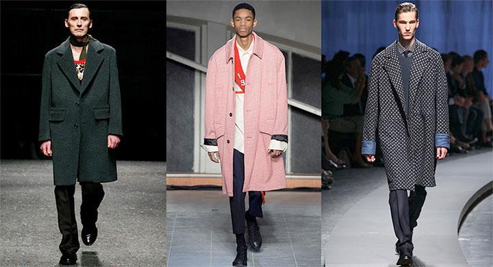 Как выбрать мужское пальто оверсайз (объемное)
