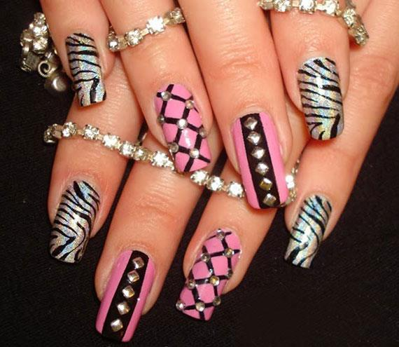 Дизайн ногтей - Барби-маникюр - фото