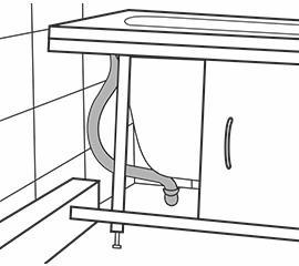 Экран под ванну скрывает трубы