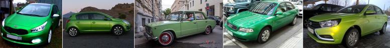 Какой цвет автомобиля выбрать   Зеленый цвет автомобиля