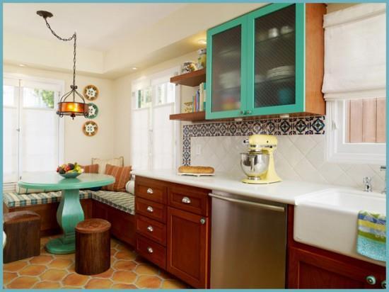 комбинации кафельной плитки для кухни