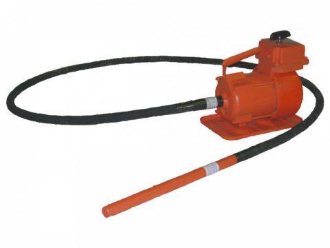 Электромеханические вибраторы глубинные для уплотнения бетонной смеси
