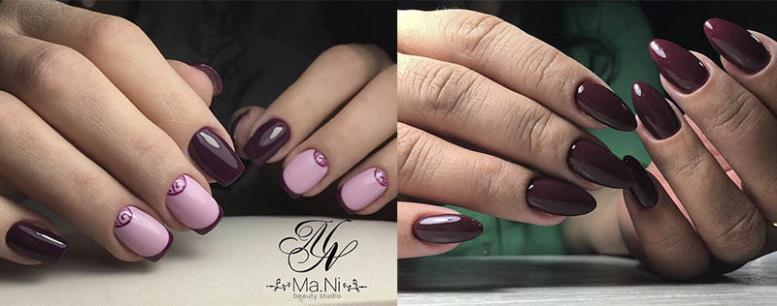 стильный цвет для ногтей 2017