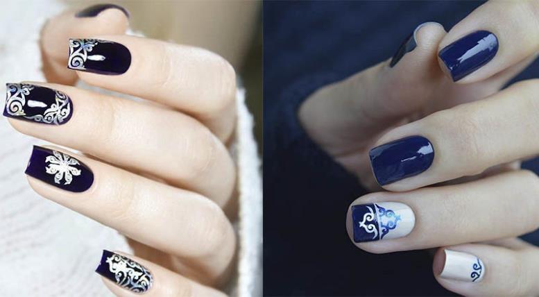 Sailor Blue модный цвет для весеннего маникюра