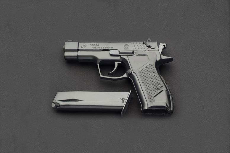 Один из самых мощных травматических пистолетов «Гроза-021» стоит 65 тысяч