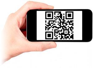 QR-код для получения ссылки на сайт