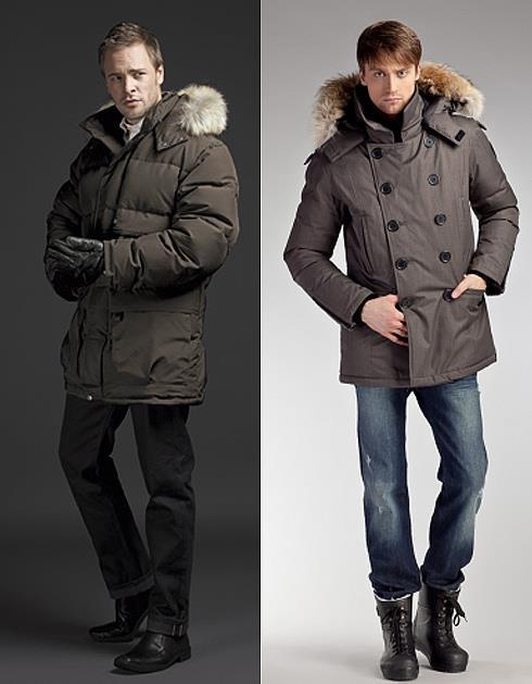 длинные мужские зимние куртки