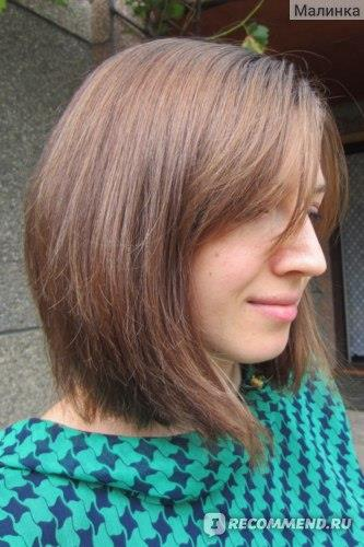 Волосы после окрашивания и стрижки