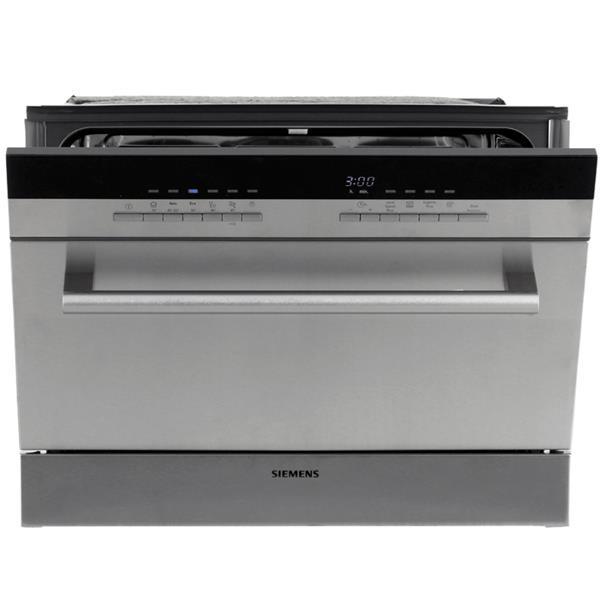 Стильная компактная посудомоечная машина фирмы Сименс с расширенным функционалом и дисплеем