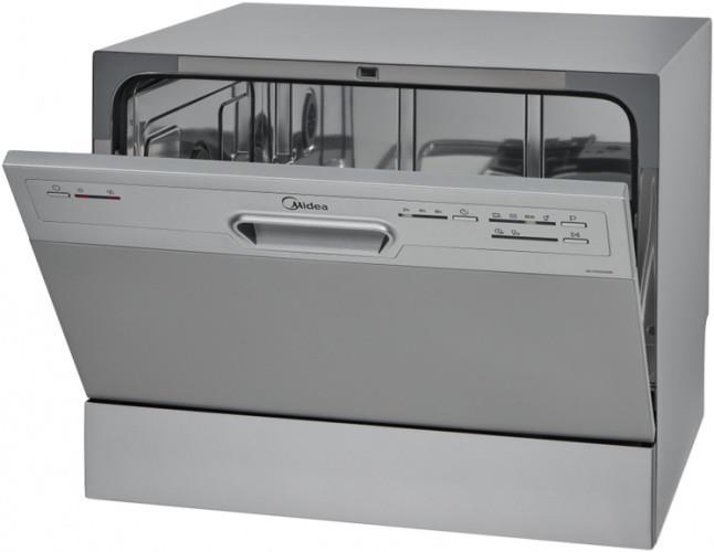 Одна из моделей компактной посудомоечной машины компании Мидея с расширенным функционалом