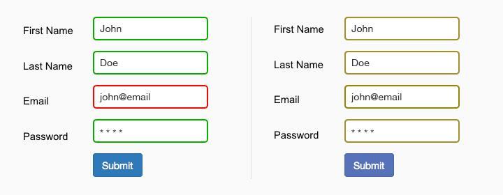 Плохая форма для ввода данных