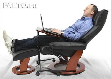 Кожаное кресло-реклайнер Relax для домашнего кинотеатра