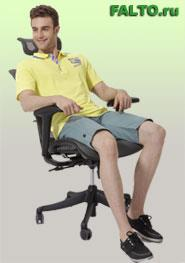 Эргономичное компьютерное кресло серии Expert Simple