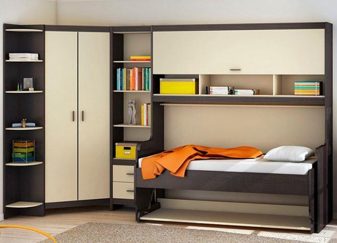 Модульная мебель для маленькой спальни4