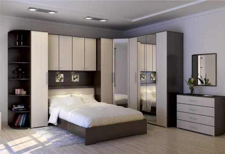 Модульная мебель для маленькой спальни3
