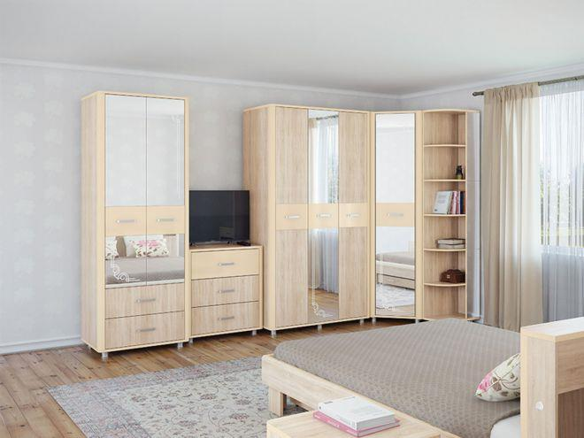 Модульная мебель для маленькой спальни