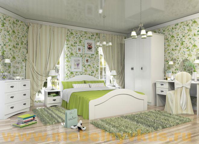Модульная мебель для спальни в стиле прованс