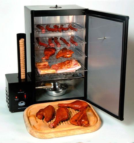 Некоторые виды электрических коптилен позволяют прибегать как к горячему, так и холодному копчению.