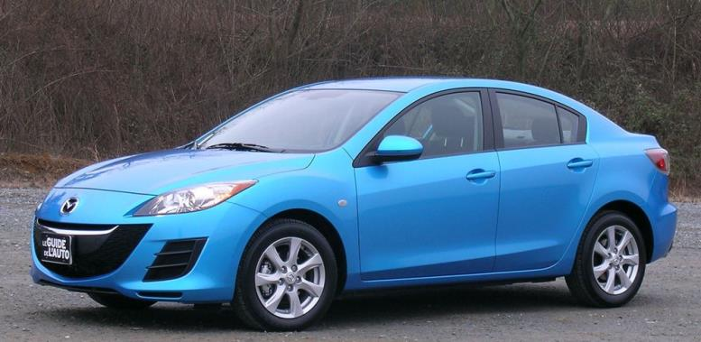 Голубая машина