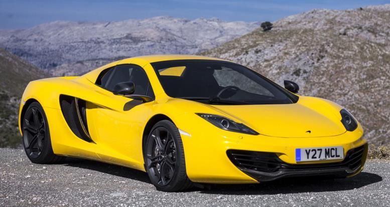 Жёлтая машина