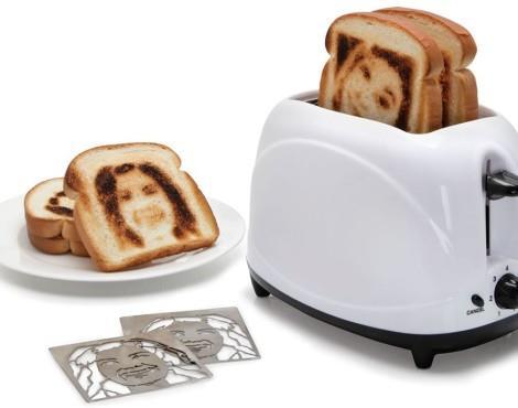 Выжигание на тостах