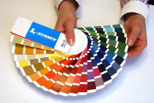 Цветовой справочник