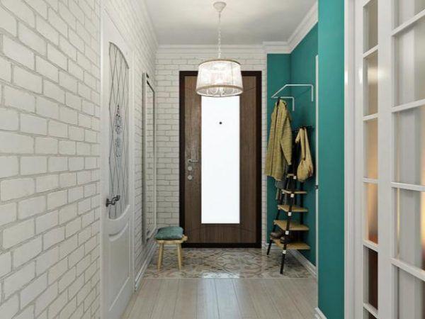 Современная маленькая прихожая 2 кв. метра в квартире