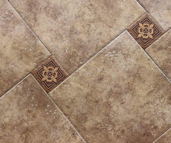 Вариант керамической плитки для прихожей