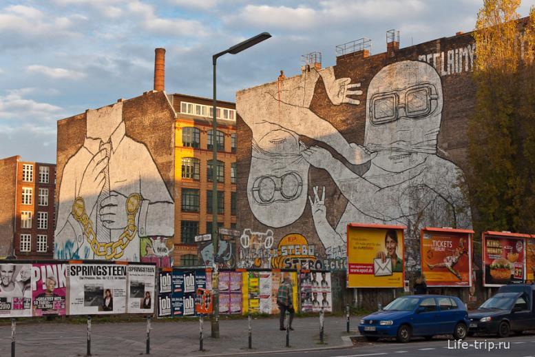 Граффити Берлина.