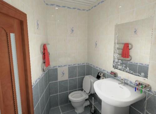 обзор дизайна маленьких ванных комнат