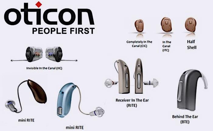 Слуховые аппараты Отикон для людей пожилых