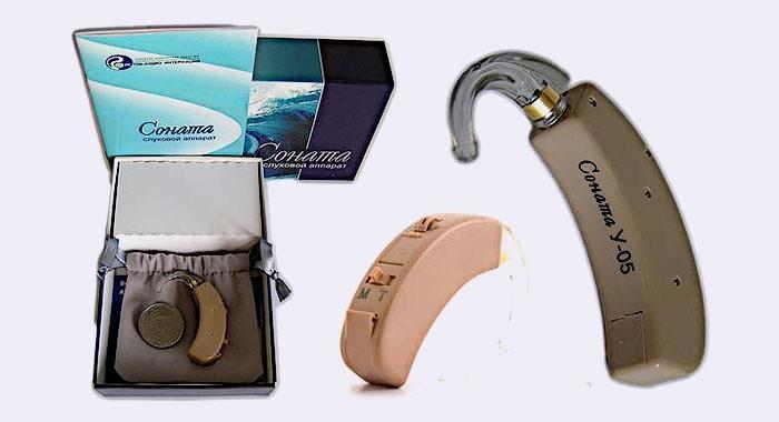 Слуховые устройства Соната для пожилых людей