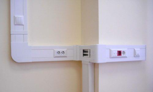 Прокладка кабеля в кабель-коробе