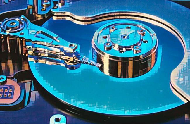 Открытый жесткий диск