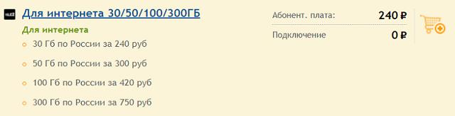 """Эксклюзивный тариф Теле2 """"Для интернета"""""""