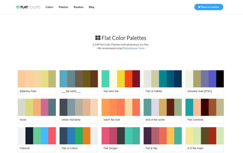 http://flatcolors.net/palettes.php