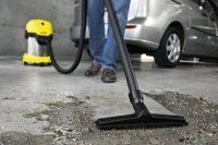 Советы по выбору пылесоса для гаража