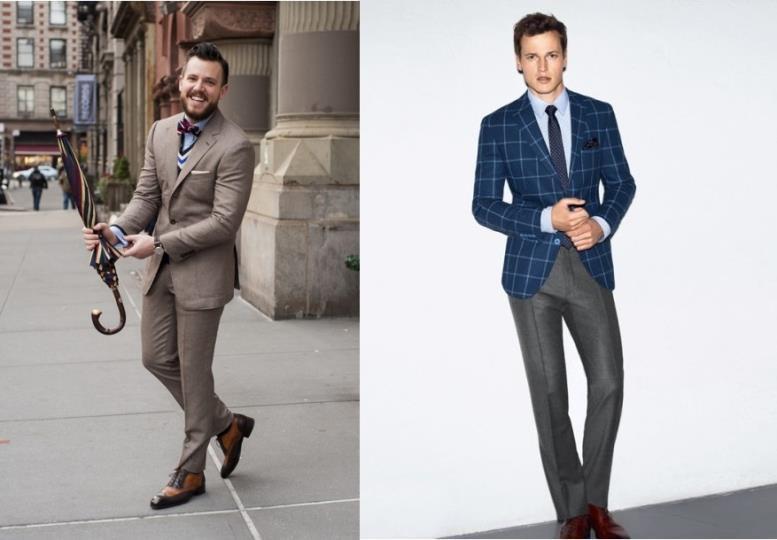укороченные мужские зауженные брюки