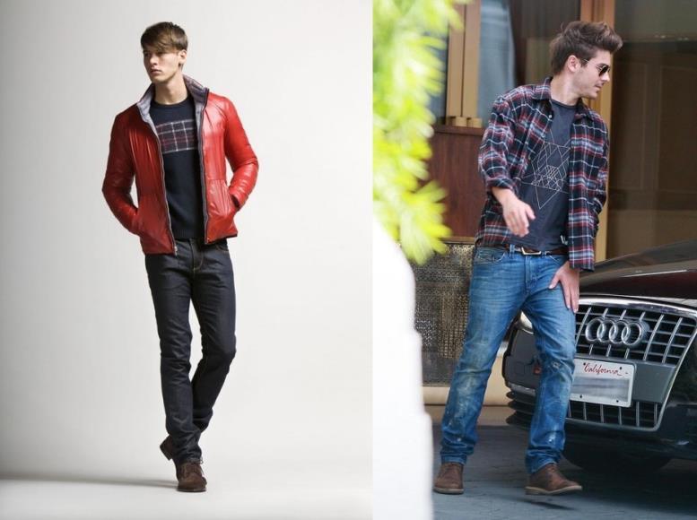 длина мужских джинсов