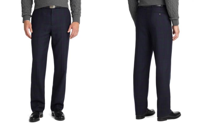 правильная длина классических мужских брюк