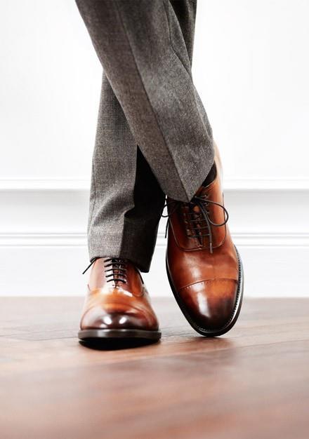 зауженные мужские брюки
