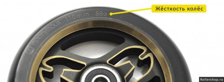 Жёсткость трюковых колёс