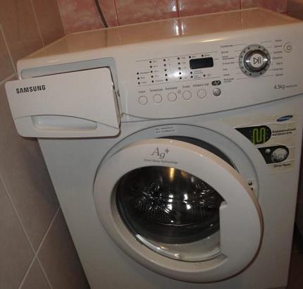 Стиральный автомат Samsung WF7450SAV